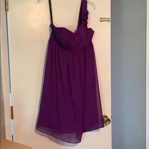 One sleeve bridesmaid/prom/semi formal dress